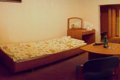 Jednoosobowy pokój w Hotelu Marco
